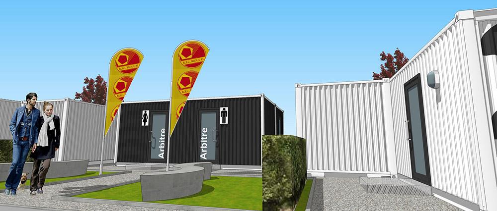 Continentis espace modulaire vestiaires